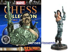 Marvel Chess Collection #57 Scalphunter Eaglemoss Publications